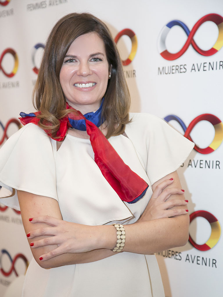 Rebeca Avila Directora de la Comision Comunicacion y RRSS Mujeres Avenir