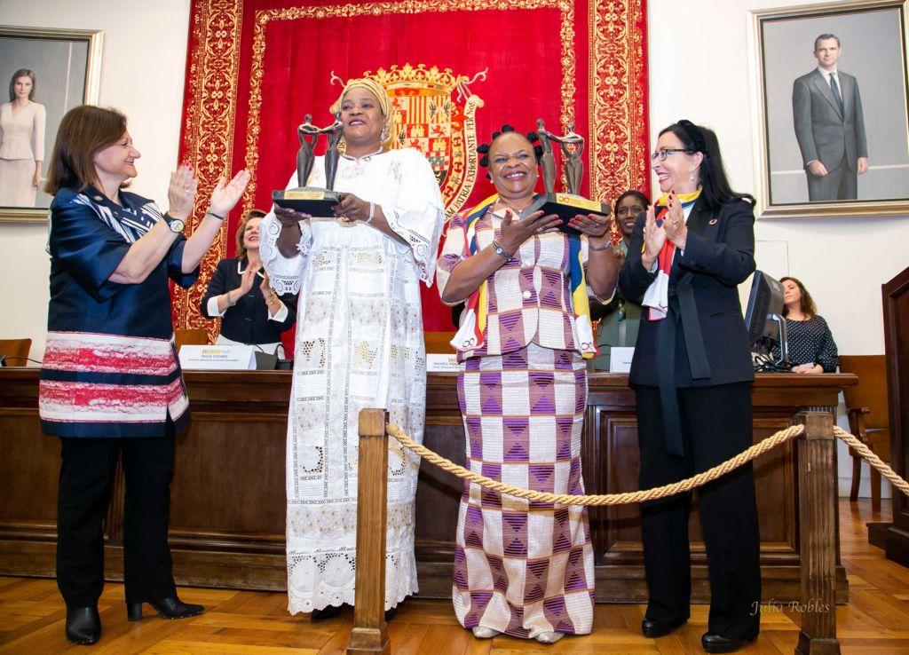 Premios Mujeres Avenir Igualdad Cristina Gallach Figueres Entraga