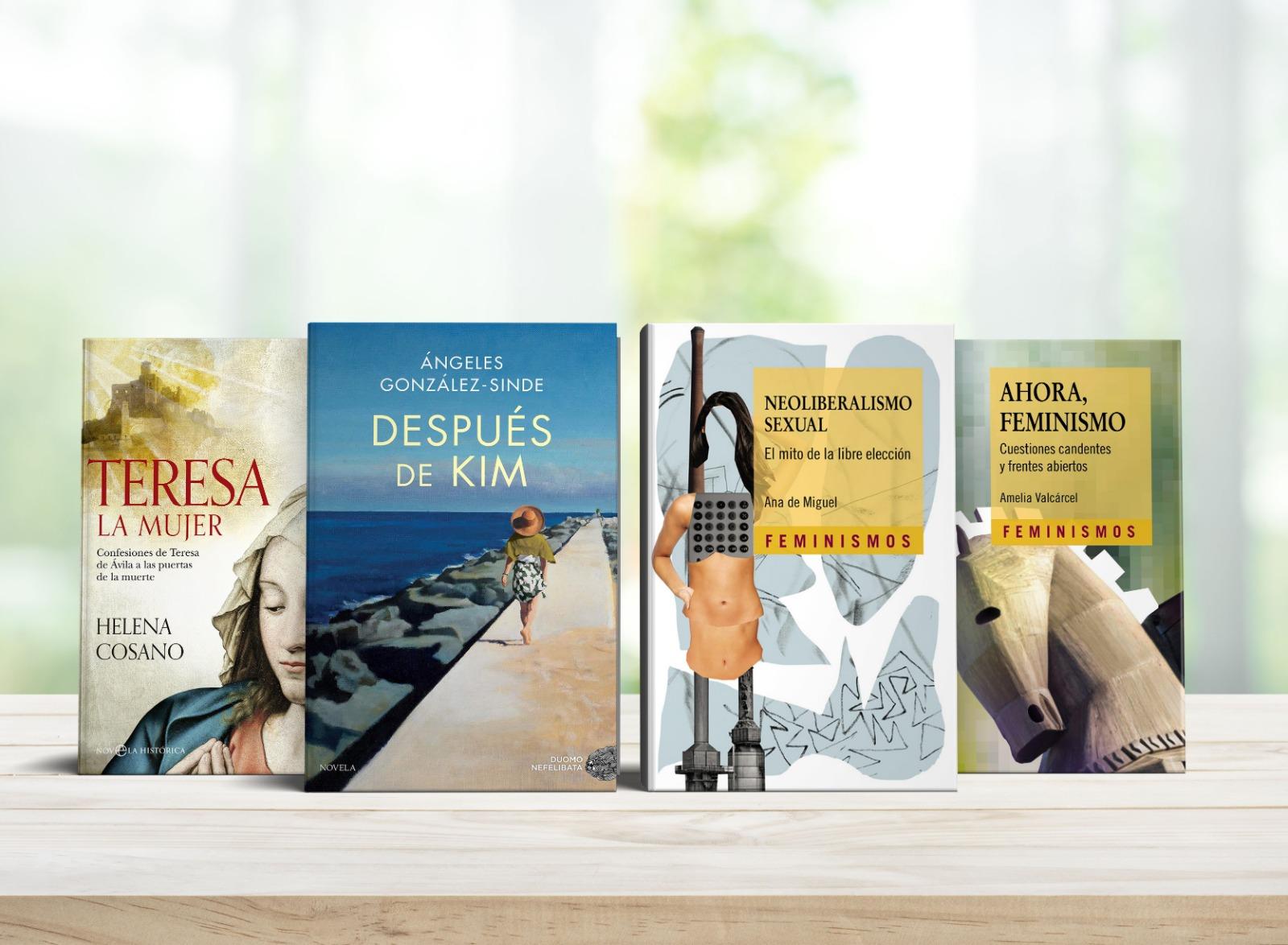Recomendaciones de Libros Feministas Dia Del Libro Mujeres Avenir