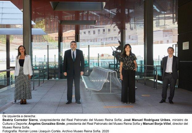 Angeles Gonzalez Sinde Museo Reina Sofia Mujeres Avenir