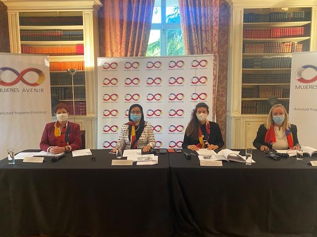 Asamblea general Mujeres Avenir Embajada Francia Madrid