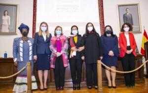 IV Conferencia Internacional Mujer y Diplomacia Premio Mujeres Avenir Dia de la Mujer